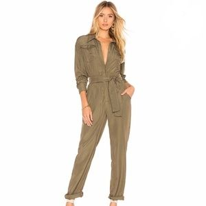 Army Green Jumpsuit / Playsuit